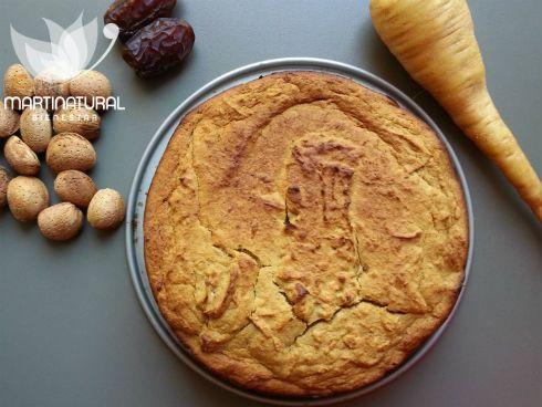 Receta pan dulce de chirivía y especias