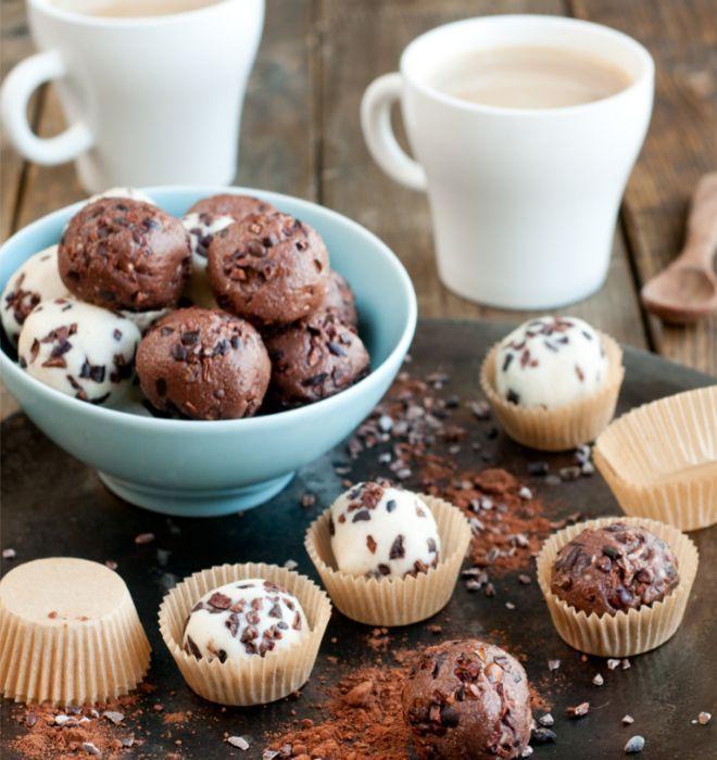 receta bombones de coco y chocolate