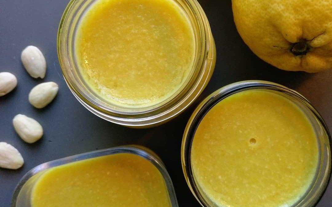Crema de limón y almendra. Una receta deliciosa, saludable y digestiva
