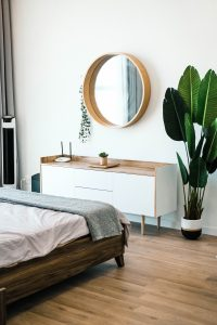 Habitación casa saludable